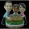 Figurine personnalisée fast-food