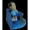 Figurine personnalisée toilette
