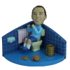Figurine personnalisée WC