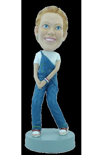 Figurine personnalisée d'adolescente