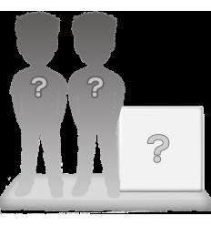 100% Personalisierte Paar Figuren + Dekor Größ XL