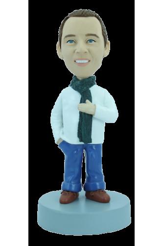 Figurine personnalisée bien couvert