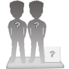 Figuras de pareja 100% personalizable + accesorio M