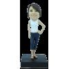 Figurine personnalisée en mode détendue