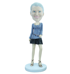 """Figurina personalizzata """"Elegante"""""""