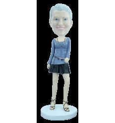 """Figurine personnalisée """"Elégante"""""""