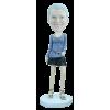 Figurine personnalisée en mode élégante
