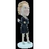 Figurine personnalisée femme élégante