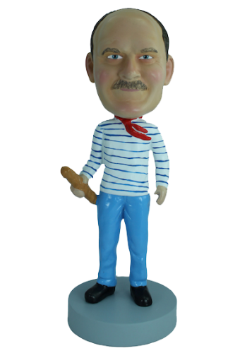 Figurine personnalisée d'un Français
