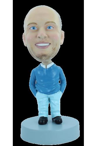 Figurine personnalisée en l'homme idéal