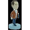 Figurine personnalisée homme frileux