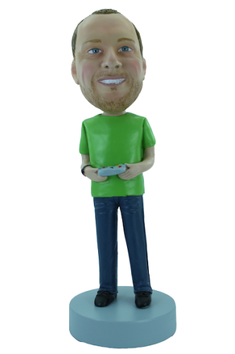 Figurine personnalisée en joueur de console