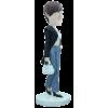 Figurine personnalisée en reine du shopping