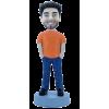 Figurine personnalisée avec les mains dans les poches