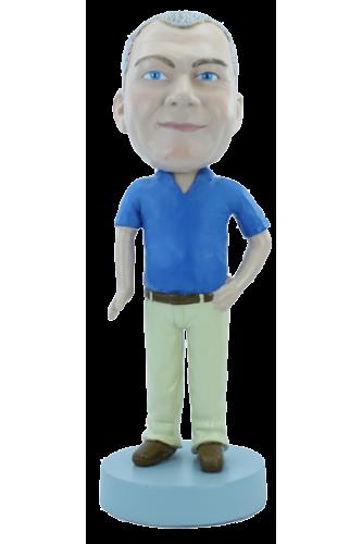 Figurine personnalisée avec un petit ventre