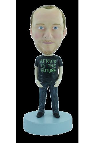 Figurine personnalisée en rappeur