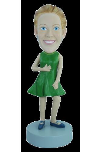 Figurine personnalisée en Robe d'été