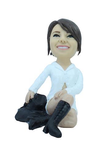 Figurine personnalisée en séductrice