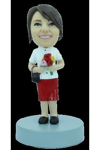 Figurine personnalisée en tenue du dimanche