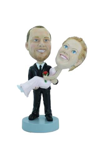 Figurine personnalisée mariage jeunes mariés