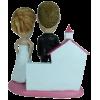 Figurine personnalisée mariage église