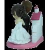Figurine personnalisée mariage avec une église
