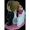 Figurine personnalisée mariage avec décor