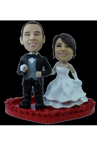 Figurina di matrimonio personalizzata