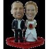 Figurine personnalisée mariage décontracté