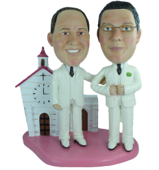 Figurine personnalisée mariage gay