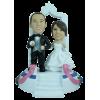 Figurine personnalisée mariage grandiose