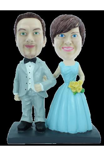 Figurine personnalisée mariage simple