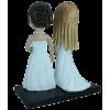 Figurine personnalisée mariées