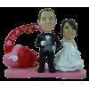 Figurine personnalisée mariage avec porte photo