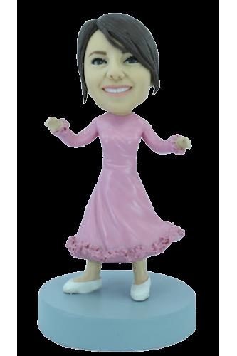 Figurine personnalisée de princesse
