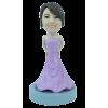 Figurine personnalisée en robe de bal