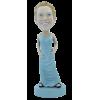Figurine personnalisée en robe de cocktail