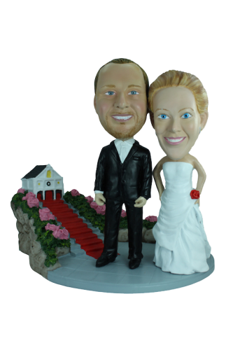 Figurine mariage personnalisé église
