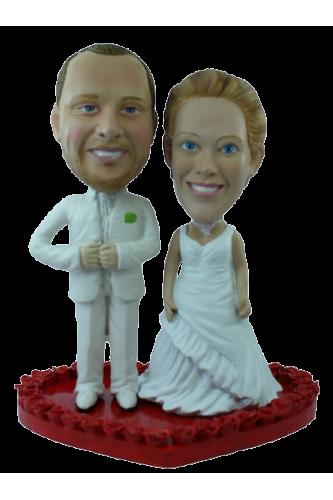 Figurine mariage personnalisé union