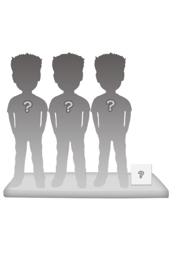 3 persons 100% customizable bobbleheads + accessory size S