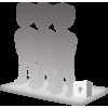 Figurine 3 personnes 100% personnalisable avec accessoire taille S