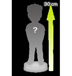 1 Person full giant custom bobblehead - 30cm/12 inches tall