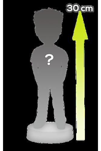Figurine géante personnalisée à 100% 1 personne - 30cm de haut