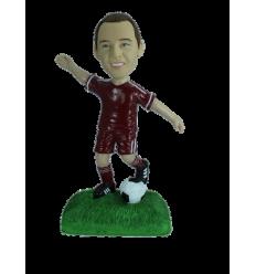 Personalizierte Figur Fußball-Aktion