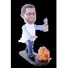 Figurine personnalisée cuisinier