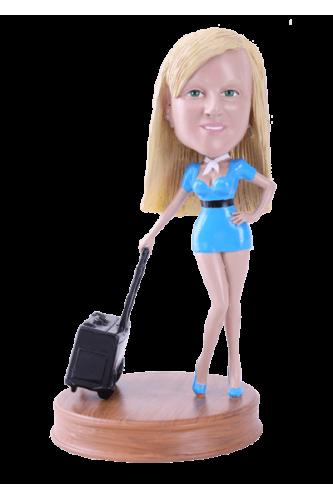 figurine personnalisée vacance