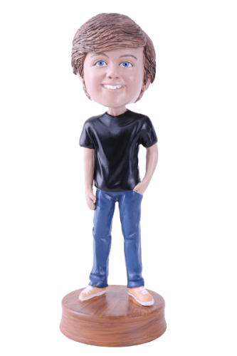 Figurine personnalisée jeune