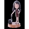 Figurine personnalisée hôtesse