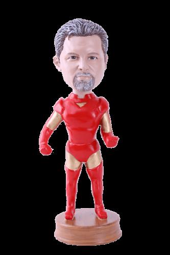 Figurine personnalisée action man marvel