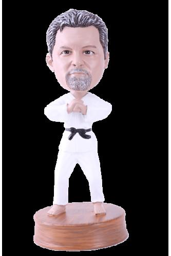 Figurine personnalisée karaté
